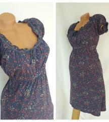 ESPRIT *-* romantična modroplava haljina