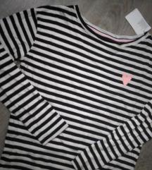 NOVO H&M majica prugice S