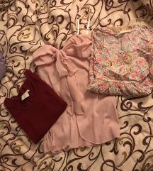3 majice S/M