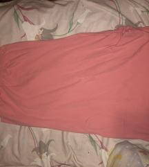 Haljina na jedno rame bebi roze