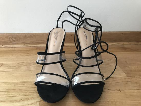 NOVE Sandala na stiklu