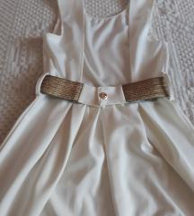 Elegantna bela haljina