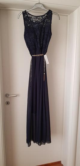 Dugacka haljina sa etiketom