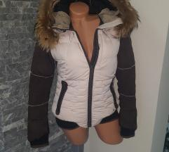 Napapijri original jakna prirodno krzno
