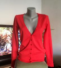 C&A crveni džemper
