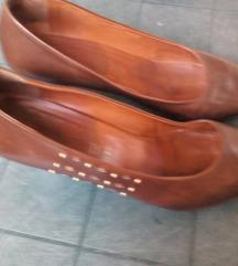 cipele braon koza 40