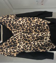 Leopard dzemperak zara