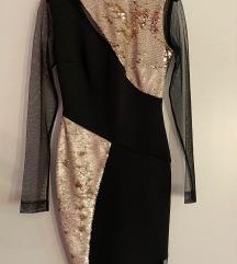 Svečana šljokičava haljina