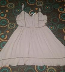 H&M haljina na pertlanje NOVA