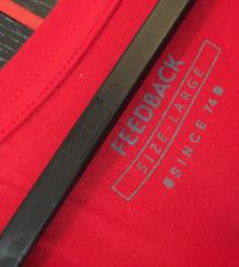 Feedback crvena majica