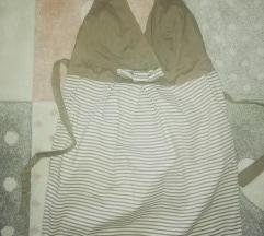 Siva mini haljina