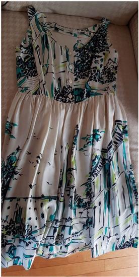 Prada svilena haljina, original