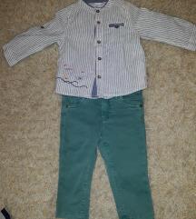 Kosulja i pantalone za decaka