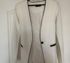 Beli duži sako sa naramenicama