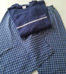 Pamučna pidžama-trenerka  za dečaka