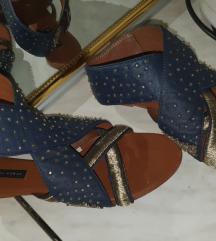 Zara kozne sandale br.40