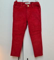 MAYORAL crvene somotske pantalone 104