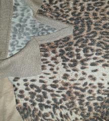 Animal print majica