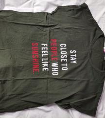 Zelena majica S vel Koton
