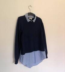 H&M džemper-košulja