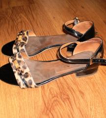 Antonella Rossi kožne sandale sniženo