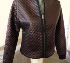 Bomber bronza jakna S vel