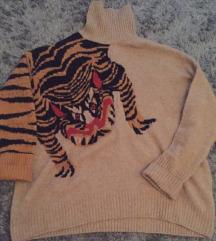 Dzemper sa tigrom