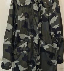 HM ženska duža maskirna jakna