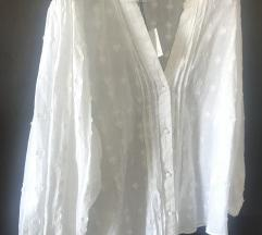 Zara beli vez bluza  košulja