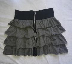 Mini suknja sa karnerima XS/XXS