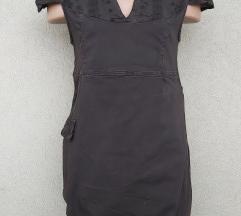 Braon simpaticna haljina