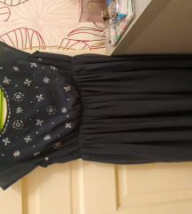 Teget sisley haljina za devojčice