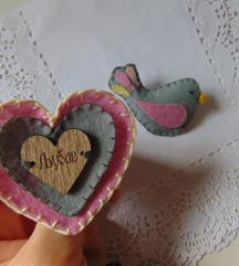 Bros ptica i srce, Ljubav, novo