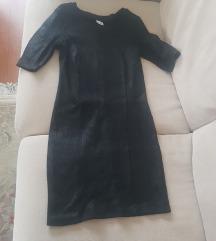 Haljina Gina tricot crne boje
