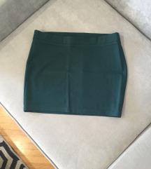 NOVA EDC suknja zelena XL