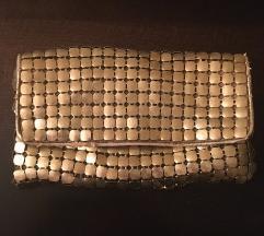 Zlatna pismo torba sa kaisicem