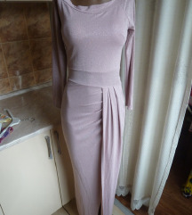 Italijanska maxi haljina novo