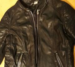 H&M kožna faux jakna
