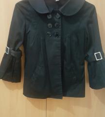 Crni sako sa leptir rukavima S