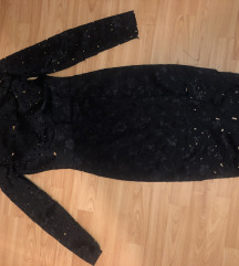 Izumbana crna haljina 38/M
