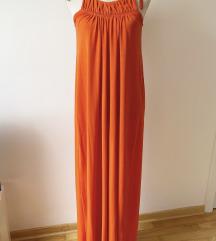 Zara narandzasta haljina