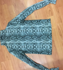 Zmijska elegantna bluza/polurolka