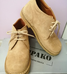 (NOVO) Kompako kožne cipele - vel. 37