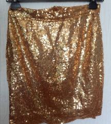 Zlatna suknja SNIZENO