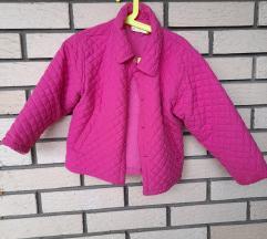 Roze jaknica za devojcice