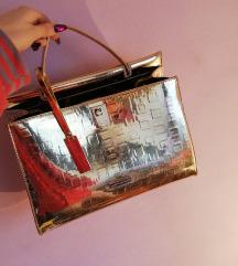 Alessia Massimo zlatna torba