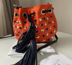 PATRIZIA PEPE orange bag 🧡
