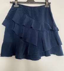 H&M suknja sa karnirima nova