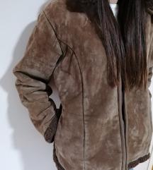 Braon bunda sa kapuljačom M 38