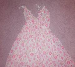 Romanticna leprsava haljina mini vel  s